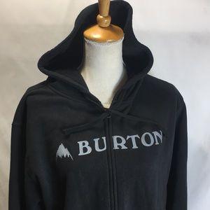 Burton zip up hoodie